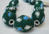 CIB491 18*23mm drum fashion Indonesia jewelry beads wholesale