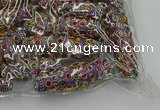 CIB618 16*60mm rice fashion Indonesia jewelry beads wholesale