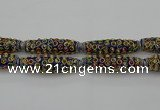CIB624 16*60mm rice fashion Indonesia jewelry beads wholesale