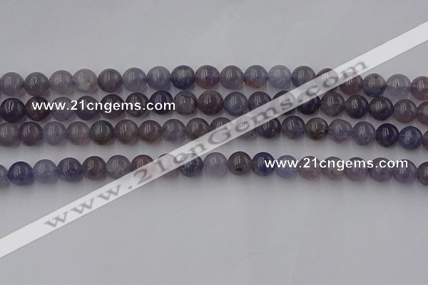CIL101 15.5 inches 6mm round iolite gemstone beads wholesale