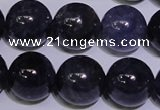 CIL24 15.5 inches 9mm round AA grade natural iolite gemstone beads