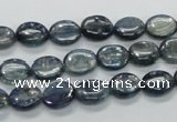 CKC204 15.5 inches 8*10mm oval natural kyanite beads wholesale
