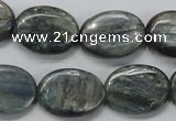 CKC208 15.5 inches 15*20mm oval natural kyanite beads wholesale