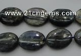 CKC228 15.5 inches 12*16mm oval natural kyanite beads wholesale