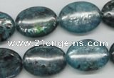 CKC25 16 inches 15*20mm oval natural kyanite beads wholesale