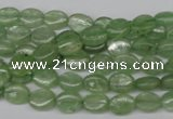 CKC265 15.5 inches 6*8mm oval natural green kyanite beads