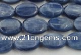 CKC530 15.5 inches 5*7mm oval natural Brazilian kyanite beads