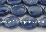 CKC533 15.5 inches 8*15mm oval natural Brazilian kyanite beads