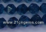 CKC713 15.5 inches 10mm faceted nuggets imitation kyanite beads