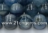 CKC771 15.5 inches 8mm round blue kyanite beads wholesale