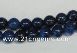 CKU101 15.5 inches 6mm round dyed kunzite beads wholesale