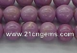 CKU300 15.5 inches 6mm round kunzite gemstone beads