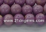 CKU301 15.5 inches 7mm round kunzite gemstone beads