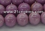 CKU302 15.5 inches 8mm round kunzite gemstone beads