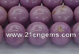 CKU303 15.5 inches 9mm round kunzite gemstone beads