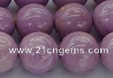 CKU306 15.5 inches 12mm round kunzite gemstone beads