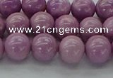 CKU310 15.5 inches 6mm round kunzite gemstone beads