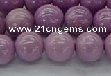CKU312 15.5 inches 8mm round kunzite gemstone beads