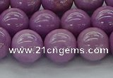 CKU313 15.5 inches 9mm round kunzite gemstone beads