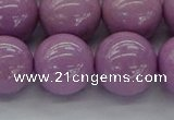 CKU316 15.5 inches 12mm round kunzite gemstone beads