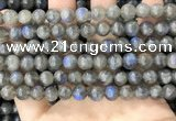 CLB1033 15.5 inches 8mm round labradorite beads wholesale