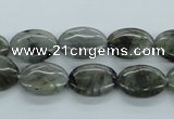 CLB112 15.5 inches 10*14mm oval labradorite gemstone beads wholesale