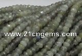 CLB27 15.5 inches 3*4mm faceted rondelle labradorite gemstone beads