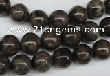 CLB433 15.5 inches 10mm round grey labradorite beads wholesale