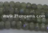 CLB771 15.5 inches 2.5*4mm faceted rondelle labradorite beads