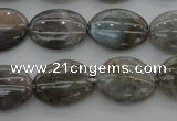CLB83 15.5 inches 12*16mm oval labradorite beads wholesale