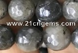 CLB883 15.5 inches 10mm faceted round AB-color labradorite beads