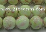 CLE203 15.5 inches 10mm round lemon turquoise beads wholesale