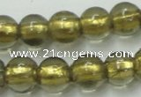 CLG833 15.5 inches 8mm round lampwork glass beads wholesale