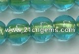 CLG840 15.5 inches 12mm round lampwork glass beads wholesale