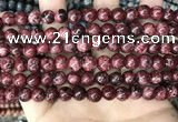 CLJ510 15.5 inches 4mm,6mm,8mm,10mm & 12mm round sesame jasper beads