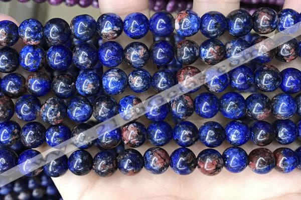 CLJ524 15.5 inches 4mm,6mm,8mm,10mm & 12mm round sesame jasper beads