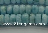 CLR79 15.5 inches 4*7mm rondelle natural larimar gemstone beads