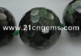 CLS18 15.5 inches 30mm faceted round large kambaba jasper beads