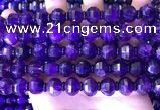 CME322 15.5 inches 9*11mm - 10*12mm pumpkin amethyst beads