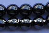 CMH10 16 inches 10mm round magnetic hematite beads Wholesale