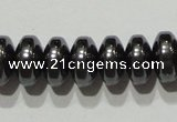 CMH167 15.5 inches 5*8mm rondelle magnetic hematite beads