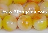 CMJ1053 15.5 inches 12mm round jade beads wholesale