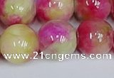 CMJ1163 15.5 inches 12mm round jade beads wholesale