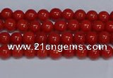 CMJ120 15.5 inches 4mm round Mashan jade beads wholesale