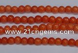 CMJ141 15.5 inches 4mm round Mashan jade beads wholesale