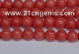 CMJ149 15.5 inches 6mm round Mashan jade beads wholesale