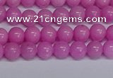 CMJ205 15.5 inches 6mm round Mashan jade beads wholesale