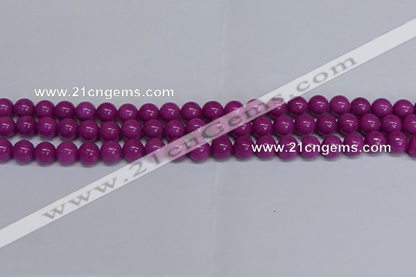 CMJ256 15.5 inches 10mm round Mashan jade beads wholesale