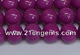 CMJ257 15.5 inches 12mm round Mashan jade beads wholesale