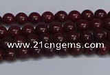 CMJ29 15.5 inches 4mm round Mashan jade beads wholesale